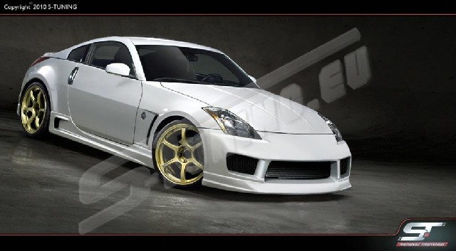 SIDE SKIRTS NISSAN 350Z EXCLUSIVE-LINE