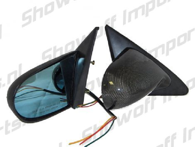 Honda Integra 94-01 Spoon Style Real Carbon Mirrors Electric