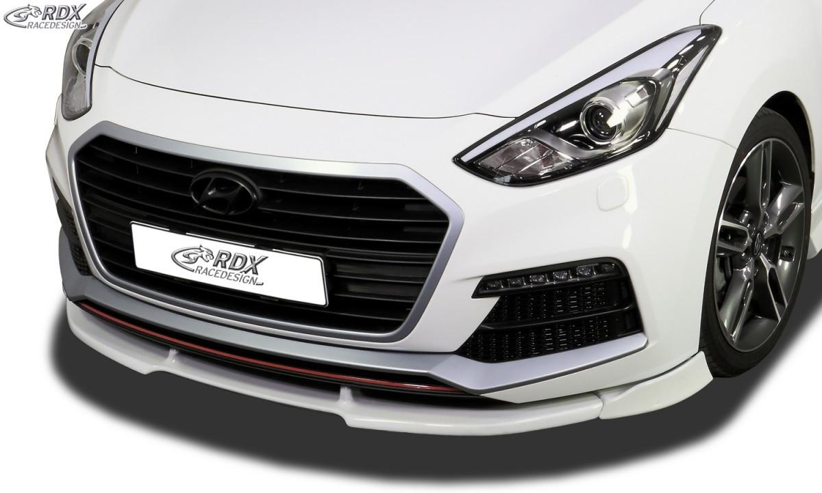 Frontspoiler VARIO-X HYUNDAI i30 Turbo GD (incl Coupe) Frontlippe Front Ansatz Vorne Spoilerlippe