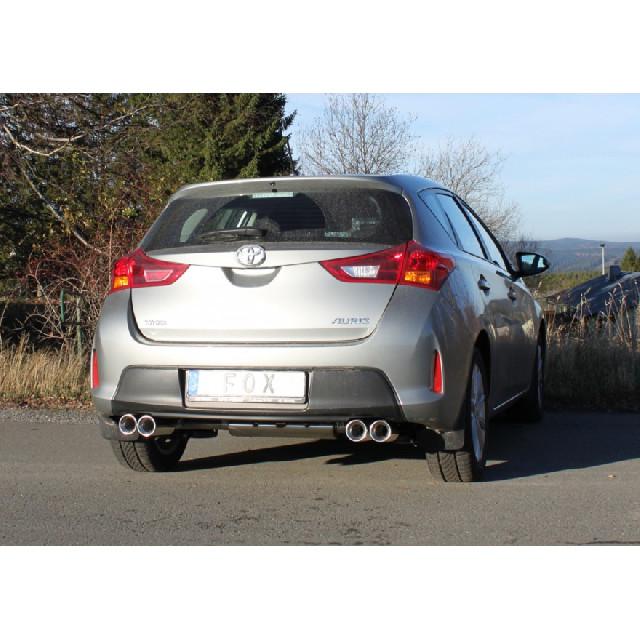 Toyota Auris Benzin - E18 Endschalldämpfer rechts/links - 2x90