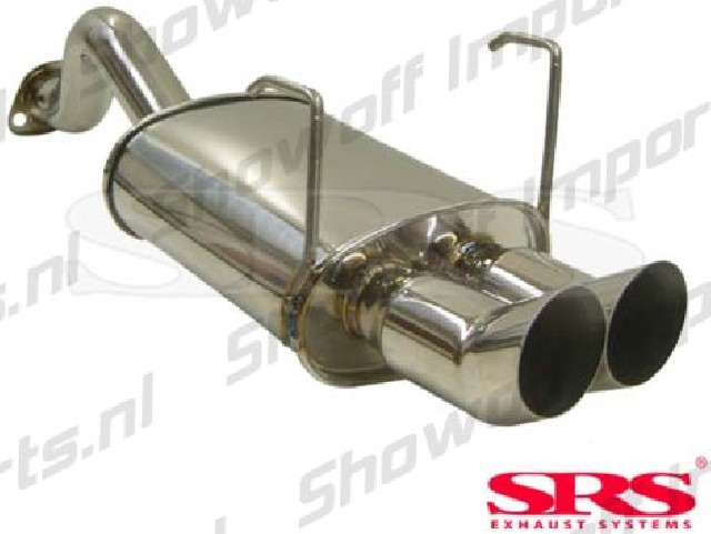Honda Civic 92-00 3D/DelSol 92-97 SRS Stainless DTM Exhaust