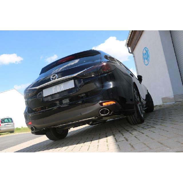 Mazda 6 - GJ Limousine/ Kombi Frontantrieb & Allrad Endschalldämpfer quer Ausgang rechts/links - 115x85
