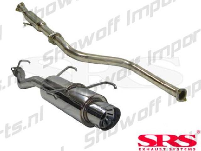 Honda Prelude 92-96 SRS Stainless Steel G55 Catback System