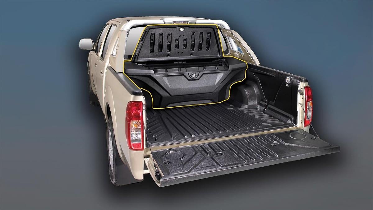 Staubox für  Mitsubishi L200 ab 15  Doppelkabine