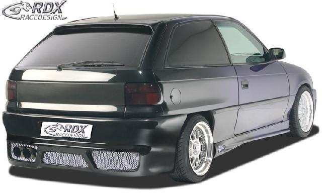 Heckstoßstange Opel Astra F mit KZ-Mulde  Heckschürze