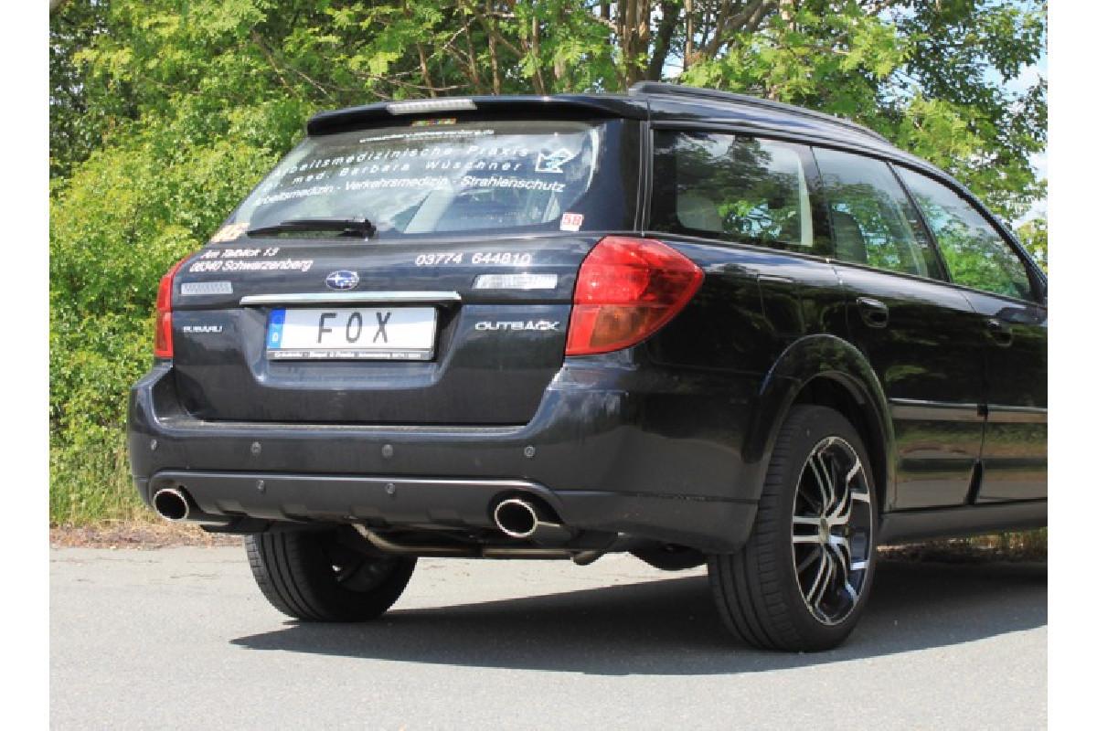Subaru Outback/ Legacy Outback BP - Kombi Endschalldämpfer rechts/links - 115x85  rechts/links