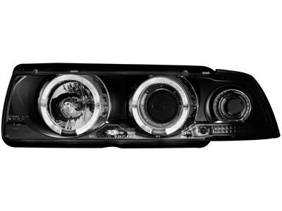 Scheinwerfer BMW 3er E36 Coupe/Cabrio 92-98 2 SLR black