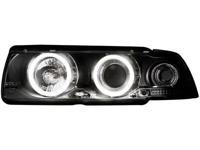 Scheinwerfer BMW 3er E36 Coupé/Cabrio 92-98 2 CCFL SLR black