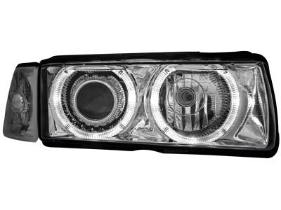 Scheinwerfer BMW 3er E36 Lim. 92-98 2 Standlichtringe chrome