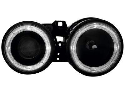 Scheinwerfer BMW 3er E30 09.87-10.90 2 Standlichtringe black