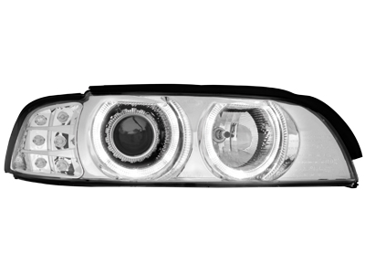 Scheinwerfer BMW 5er E39 95-00 LED indicator chrome