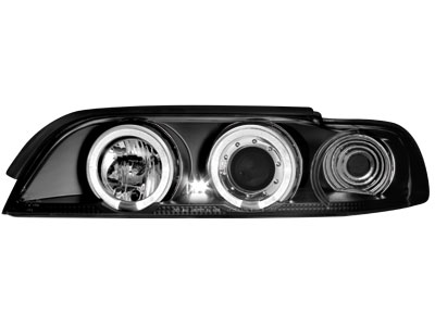 Scheinwerfer BMW 5er E39 95-00 2 Standlichtringe black