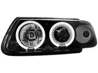 Scheinwerfer Citroen Saxo 96-99 2 Standlichtringe black