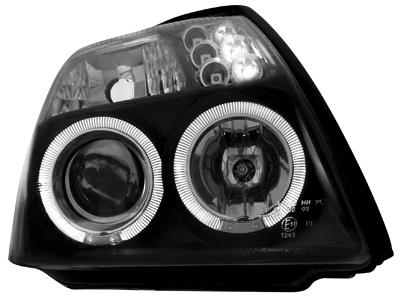 Scheinwerfer Citroen C2 03+ 2 Standlichtringe black