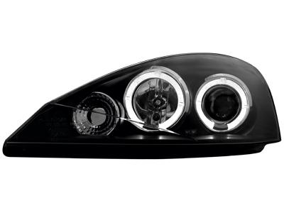 Scheinwerfer Ford Focus 01-04 2 Standlichtringe black