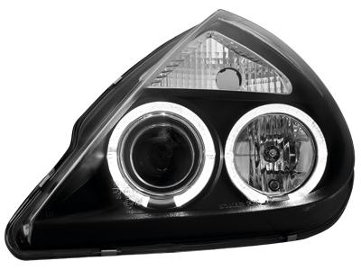 Scheinwerfer Ford KA 2 Standlichtringe black