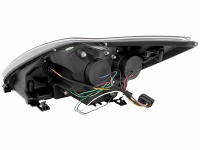 Tagfahrlicht-Optik Scheinwerfer Ford Focus mk2 Facelift (08-11) chrom