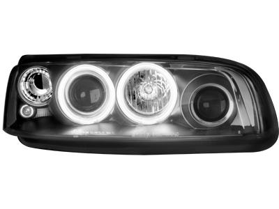 Scheinwerfer Fiat Punto 99-03 2 CCFL SLR black