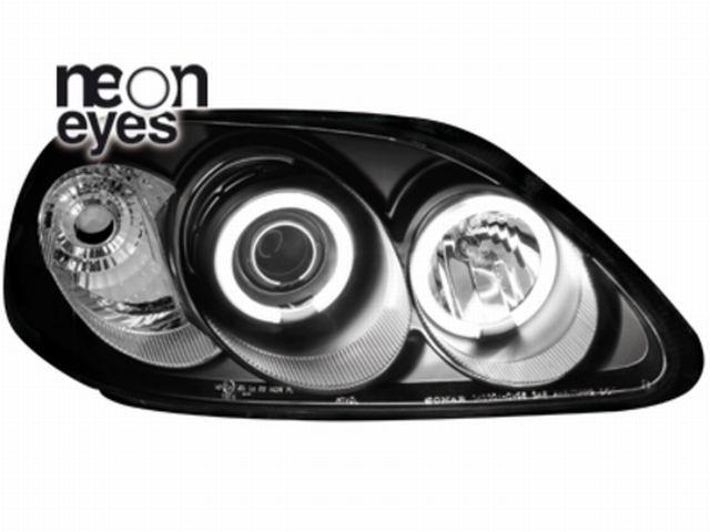 Scheinwerfer Honda Civic 2/5T 96-98 _ 2 CCFL SLR black