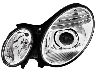 Scheinwerfer Mercedes E-Klasse W211 02-06 chrome