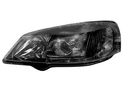 Scheinwerfer Opel Astra G 98-04 black