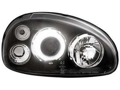 Scheinwerfer Opel Corsa B 3/5T 03.93-01 1 CCFL SLR black
