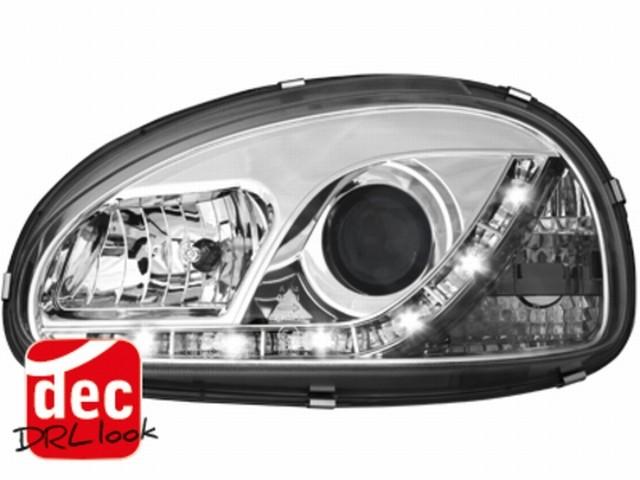 Tagfahrlicht-Optik Scheinwerfer Opel Corsa B 3/5T 03.93-01