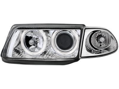 Scheinwerfer Opel Astra F 91-98 2 Standlichtr. chrome