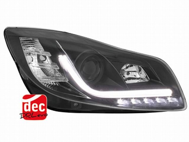 DECTANE Tagfahrlicht Scheinwerfer Opel Insignia ab 09 schwarz