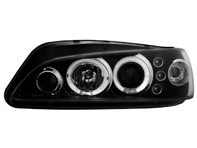 Scheinwerfer Peugeot 306 97-00 2 Standlichtringe black