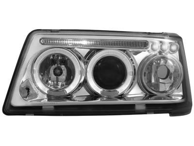 Scheinwerfer Peugeot 205 83-96 2 Standlichtringe chrome