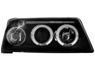 Scheinwerfer Peugeot 205 83-96 2 Standlichtringe black
