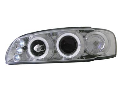 Scheinwerfer Subaru Impreza GC ab 97 2 Standlichtringe chrome