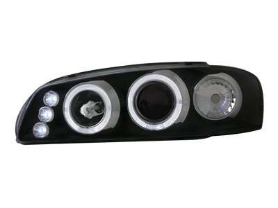Scheinwerfer Subaru Impreza GC ab 97 2 Standlichtringe black