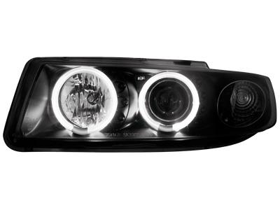 Scheinwerfer Seat Leon/Toledo 99-04 2 CCFL SLR black