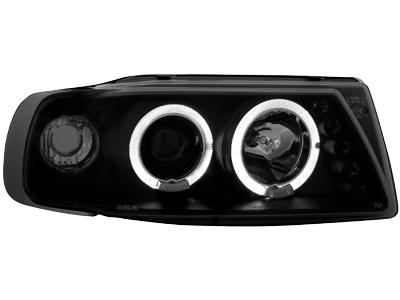 Scheinwerfer Seat Ibiza 6K 93-00 2 Standlichtringe black