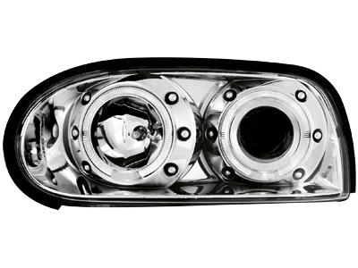 Scheinwerfer VW Golf III 92-98 2 Standlichtringe chrome