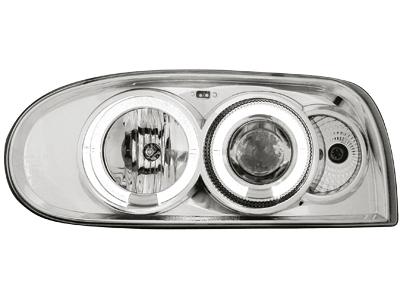 Scheinwerfer VW Golf III 92-98 2 Standlichtr. RHD chrome