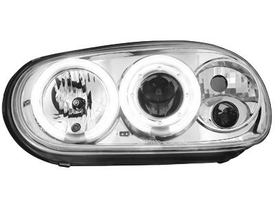 Scheinwerfer VW Golf IV 97-04 2 CCFL SLR chrome
