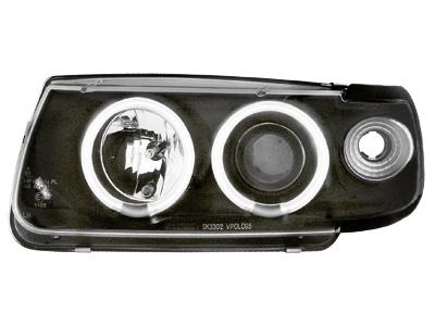 Scheinwerfer VW Polo 6N 95-98 2 CCFL SLR black