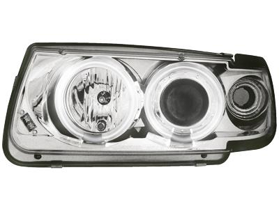 Scheinwerfer VW Polo 6N 95-98 2 CCFL SLR chrome