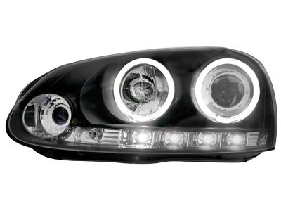 Scheinwerfer VW Golf V 03-09 2 CCFL SLR black