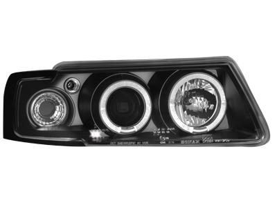 Scheinwerfer VW Passat 3B 96-00 2 Standlichtringe black