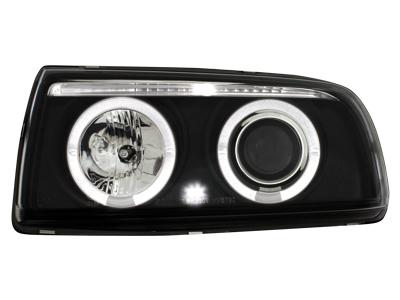 Scheinwerfer VW Vento 91-98 2 Standlichtringe black