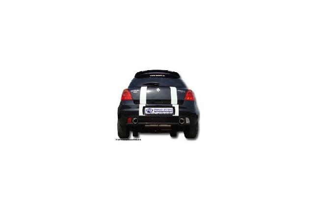 FOX Suzuki Swift Sport III - SG  Endschalldämpfer Ausgang rechts/links - 1x100 Typ 17 rechts/links