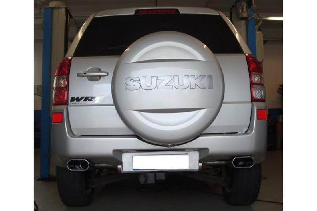 Suzuki Grand Vitara JT - 5-Türer Endschalldämpfer quer Ausgang rechts/links - 160x80