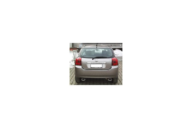 FOX Toyota Corolla E12 Combi  Endschalldämpfer Ausgang rechts/links - 135x80 Typ 53 rechts/links