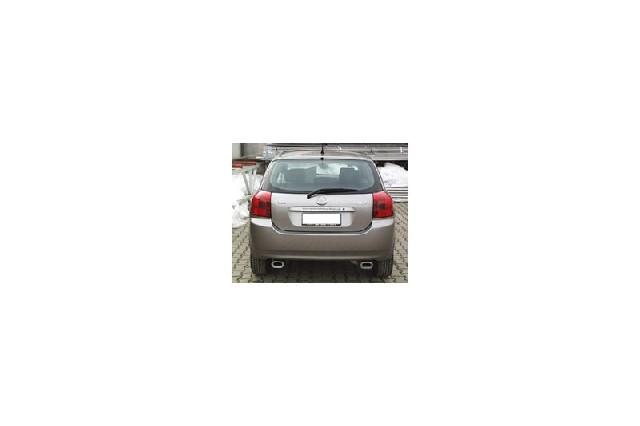 FOX Toyota Corolla E12  Endschalldämpfer Ausgang rechts/links - 135x80 Typ 53 rechts/links