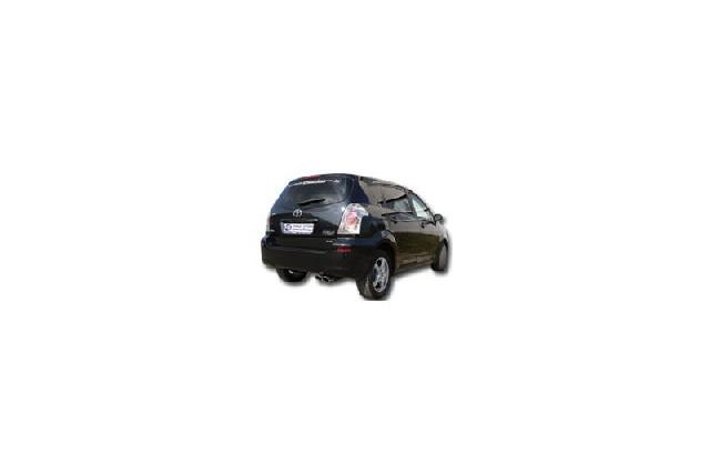 FOX Toyota Corolla Verso Diesel Bj. ab 04`  Endschalldämpfer - 2x88x74 Typ 32