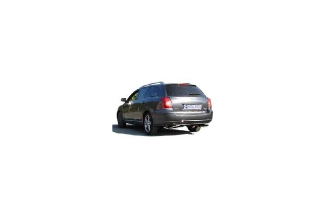 FOX Toyota Avensis T25 Diesel - Combi  Endschalldämpfer rechts/links - 160x80 Typ 53 rechts/links